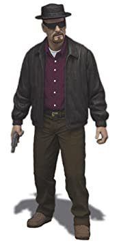 Mezco - Breaking Bad figurine Heisenberg 15 cm