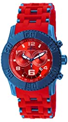 New Mens Invicta 19787 Sea Spider Chronograph Polyurethane Bracelet Watch