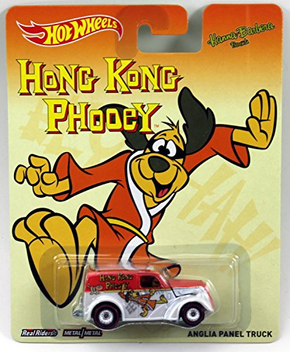 Hot Wheels Pop Culture Hanna-Barbera Presents - Hong Kong Phooey Anglia Panel Truck - 1