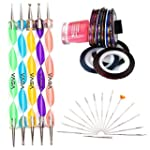Set Kit Nail Art Professionnel Qualit...