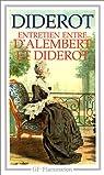 Entretien entre d'Alembert et Diderot par Diderot