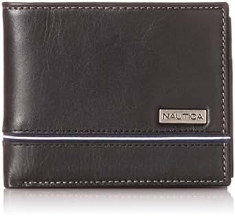 Nautica Men's Multi Card Passcase, Black, One Size