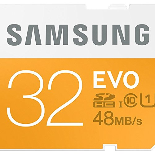Samsung 32GB EVO Class 10 SDHC Card up to 48MB/s (MB-SP32D/AM)