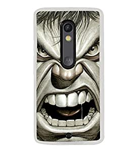 Popular Hollywood Action Hero 2D Hard Polycarbonate Designer Back Case Cover for Motorola Moto X Play