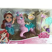 Disney Princess Petite Ariel And Pony Little Mermaid Doll Playset Toy