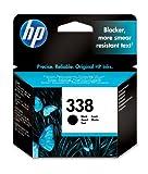 HP 338 Cartouche d'encre d'origine Noir...