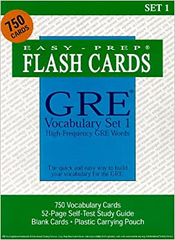 Gre flash cards software