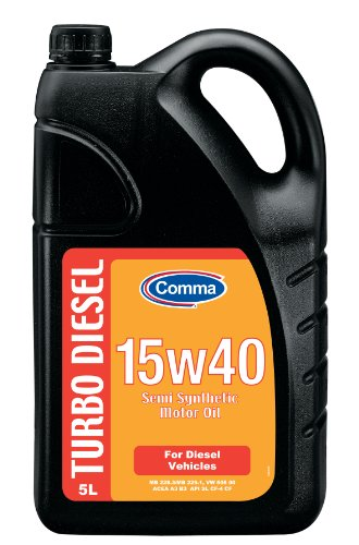 Comma DMO5L 5L Turbo Diesel Semi Synthetic 15W40 Motor Oil
