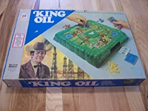 King Oil 1974 Board Game
