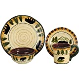 HiEnd Accents Bear Dinnerware Set