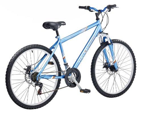 Falcon Osiris Men's Front Suspension Mountain Bike - Blue, 22 inch