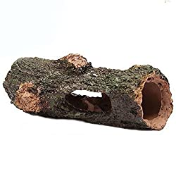 Generic Aquarium Fish Tank Hollow Tree Stump Ornament Cave Landscaping Decoration