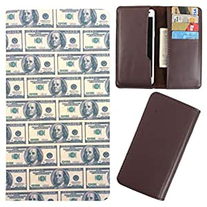 DooDa - For Gionee Elife E6 PU Leather Designer Fashionable Fancy Case Cover Pouch With Card & Cash Slots & Smooth Inner Velvet
