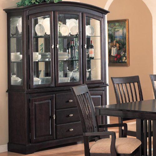 Cheap Monaco Buffet and Hutch by Coaster Fine Furniture (B007O5YYFG)