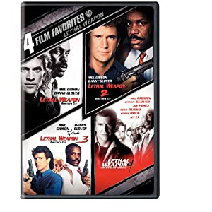 Click to buy Mel Gibson Movies: Lethal Weapon: 4 Film Favorites from Amazon!