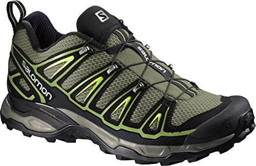 SalomonX Ultra 2 - Scarpe da Arrampicata Basse Uomo , Multicolore (Multicolore (Nile Green/Black/Turf Green)), 42