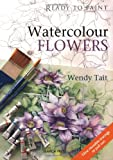 Watercolour Flowers (Ready to Paint)
