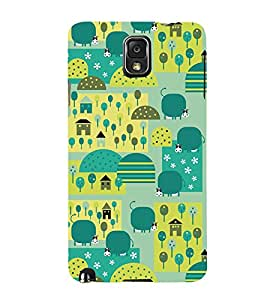 Signals City Corp 3D Hard Polycarbonate Designer Back Case Cover for Samsung Galaxy Note 3 N9000 :: Samsung Galaxy Note 3 N9002 :: Samsung Galaxy Note 3 N9005 LTE