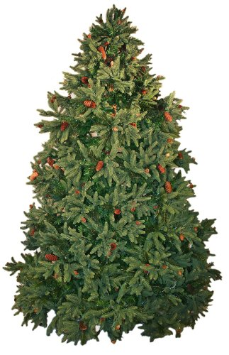 Good Tidings Colorado Spruce Artificial Prelit Christmas Tree 12 Feet Tall with 2850 Clear