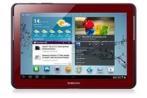 Samsung Galaxy Tab 2 GT-P5110GRADBT WiFi only Tablet (1GHz Dual Core Prozessor, 25,7 cm (10,1 Zoll) Display, 3,2 Megapixel Kamera, 16GB Speicher, WiFi, Android 4.0) garnet-red