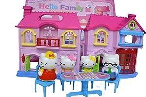 Hello Family Playhouse Kitty Family Home Playhouse, HK40