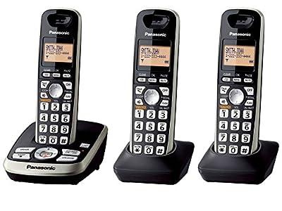 Panasonic KX-TG4223B Expandable Digital Cordless Answering System