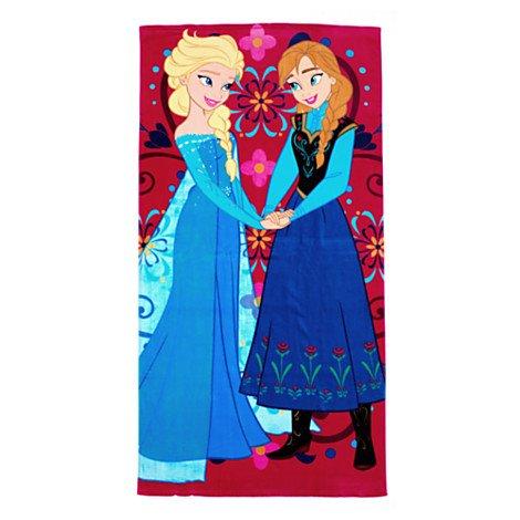Disney – Die Eiskönigin – völlig unverfroren – Anna Elsa Handtuch – Badetuch & Strandtuch für Kinder bestellen