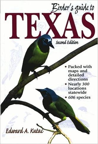 Birder's Guide to Texas (Birder's Guides Series)