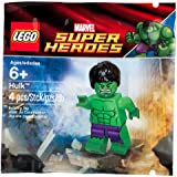 LEGO Marvel Super Heroes Exclusive Mini Figure Set #6001095 Hulk with Ripped Purple Pants Bagged