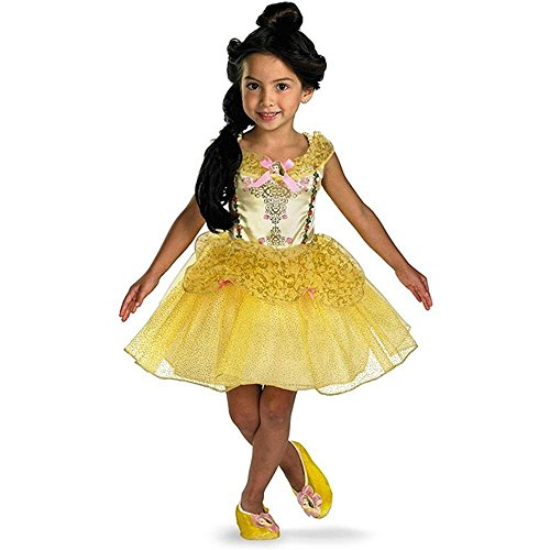 Disney Ballerina Belle Kids Costume - 4-6X