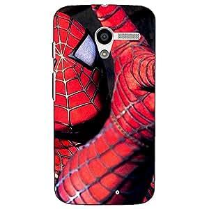 Jugaaduu Superheroes Spiderman Back Cover Case For Moto X (1st Gen)