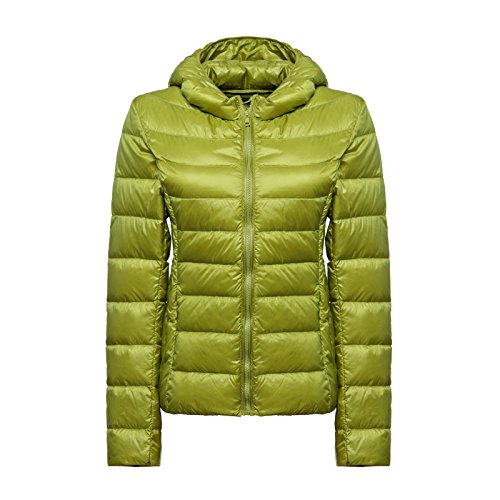 WJP donne ultra leggero rivestimento Packable gi? Outwear tampone piumino W-1374