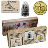 Civil War 150th Anniversary Commemorative Set: With Stamp, Coin and Bullet