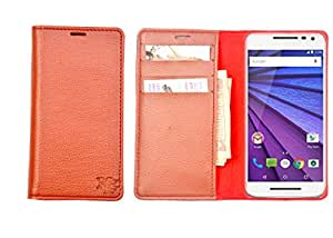 R&A Pu Leather Wallet Case Cover For Sony Xperia U