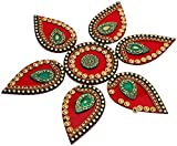 Decoration Craft Acrylic Rangoli - (25 cm x 25 cm)