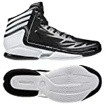 Adidas G59478 adizero Crazy Light II Men's Basketball Shoes (Black/White)