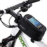 DCCN Fahrradtasche Handy Fahrrad Rahmentasche Oberrohrtasche Fahrrad Handy Tasche fuer