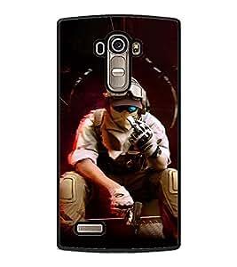 PRINTSWAG SHOOTER MAN Designer Back Cover Case for LG G4