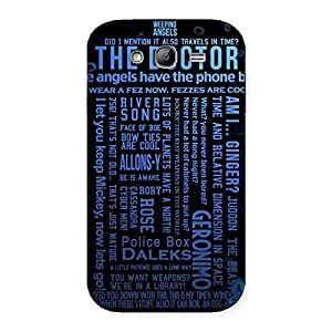 Gorgeous Blue Doc Angel Back Case Cover for Galaxy Grand Neo