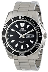 Orient Men's CEM75001B Stainless Steel Dive Watch