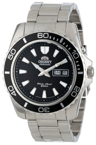 Orient Men's Black Mako Automatic Dive Watch CEM75001B