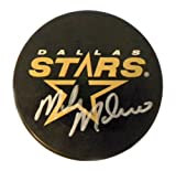 Dallas Stars Hockey Puck - Autographed by Mike Modano - JSA Authenticated