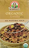 Dr. McDougall's Right Foods Organic Soup, Tortilla, 18-Ounce (Pack of 6)