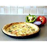 WellBake Quiche Flan Tart Dish. Buy 1 get 1 FREE. Superior Quality Silicone Bakeware + 10 Year Guarantee