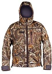 Stormr Men\'s Stealth Jacket, Realtree Max-4, Medium - Hunting, Camouflage & Camo Hunting Gear