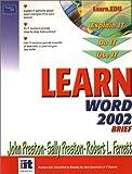 Learn Word 2002 Brief (0130613169) by Preston, John