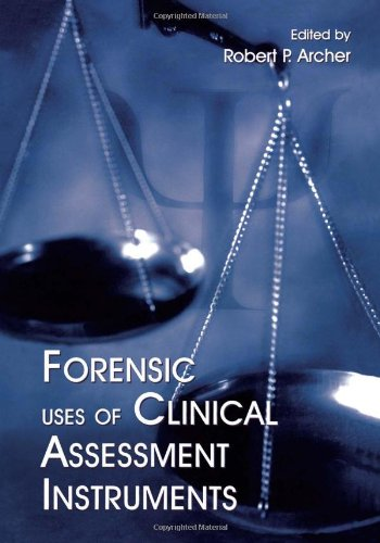 Forensic Uses Of Clinical Assessment Instruments front-783302