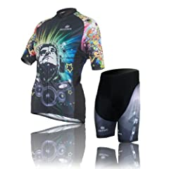 Buy Baleaf Ladies Short Sleeve Cycling Jersey Music Style by Baleaf
