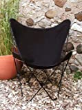 Classic Butterfly Replacement Chair Cover, Ebony