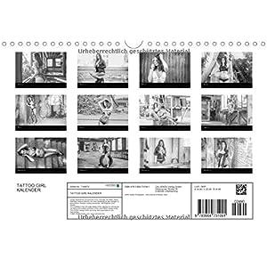 TATTOO GIRL KALENDER (Wandkalender 2016 DIN A4 quer): TATTO GIRL KALENDER (Monatskale
